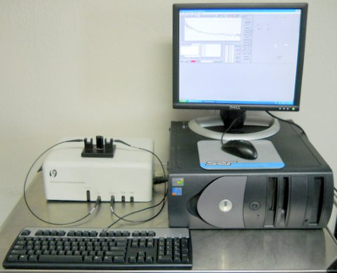 430 CCD Array Visible Spectrophotometer