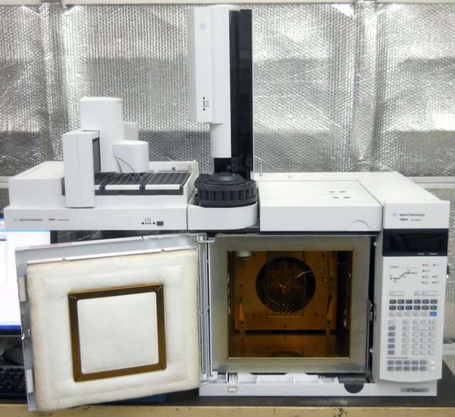 7890A GC Gas Chromatograph with 7693 Autosampler