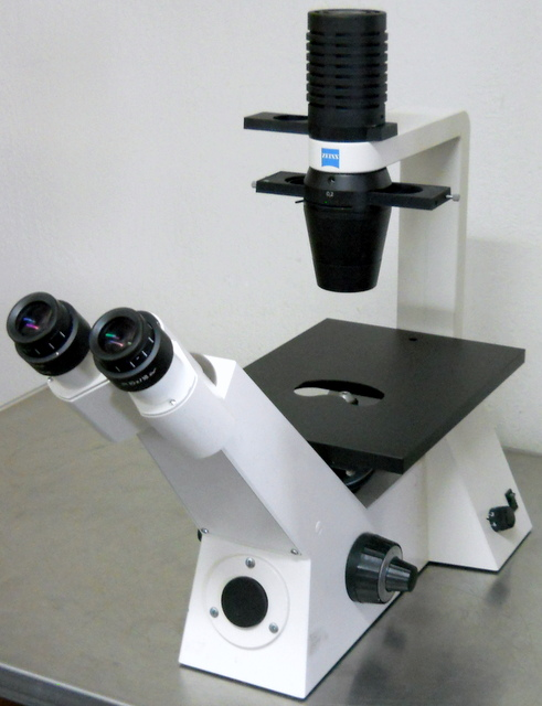 Axiovert 25 Inverted Phase Contrast Microscope