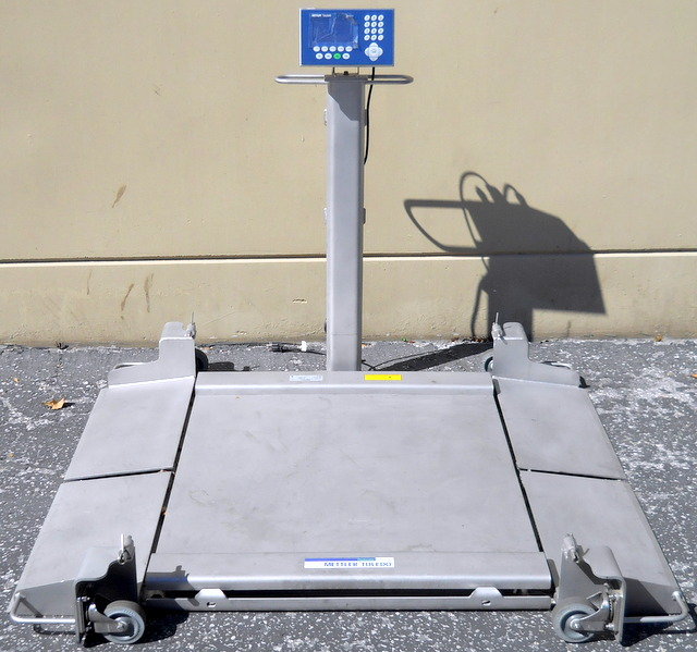 DeckMate Portable Floor Scale