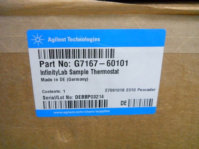 G7167-60101 InfinityLab Sample Thermostat