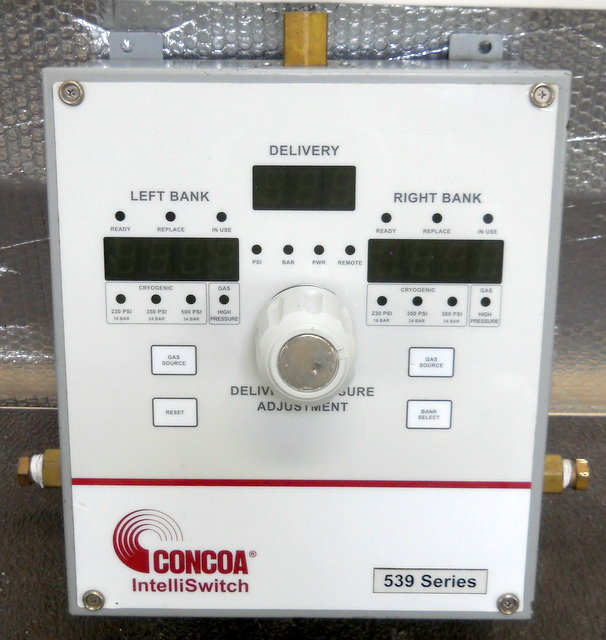 539 Series IntelliSwitch Gas Management System