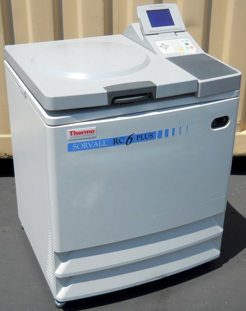RC-6 Plus Refrigerated Superspeed Floor Model Centrifuge