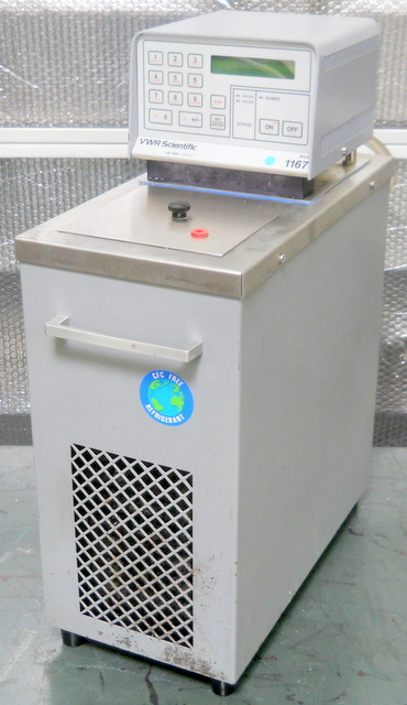 1167 Heated and Refrigerated Circulating Waterbath