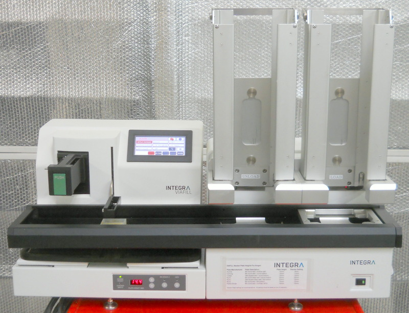 ViaFill Microplate Reagent Dispenser with Stacker