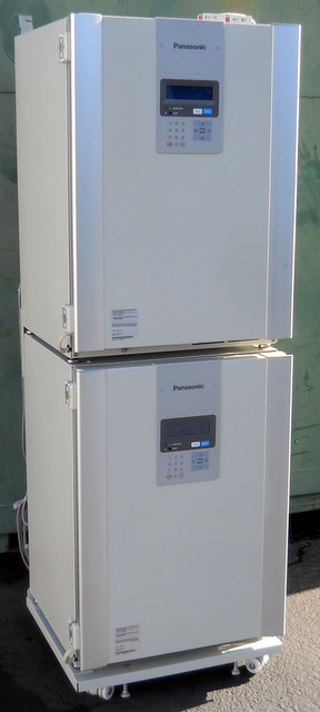 MCO-19M-PA Dual-Chamber CO2 Incubators - 3 Gas Systems