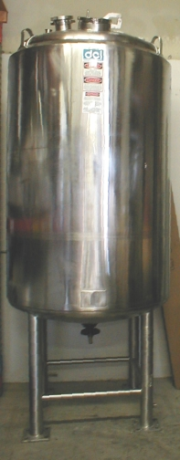 1500L Stainless Steel Vessel